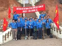 ĐVTN Công ty CP Khoáng sản và Luyện kim Cao Bằng sôi nổi ra quân tháng thanh niên 2013